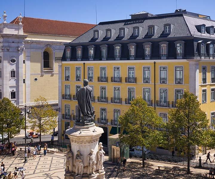 Un Hôtel De Luxe Au Cœur De Lisbonne Bairro Alto Hotel